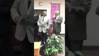 Pastor B.D. Gerald and the men choir!  10/09/16