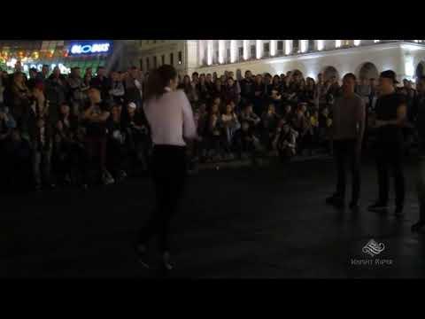 Танцевальные батлы Крещатика,Вечерний Киев часть13 - Dance Battles Khreshchatyk,Kiev Evening part13