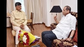 AP CM Chandrababu Naidu Meets Governor Narasimhan | Updates