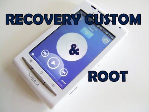 Instalar ROOT + CUSTOM RECOVERY en SONY  XPERIA X8 (E15A)