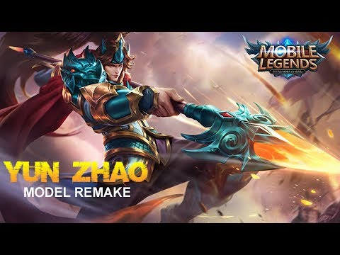Mobile Legends - Yun Zhao Model Remake First Look at Next Update