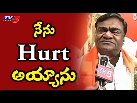 Actor-Politician Babu Mohan Speaks On Joining BJP | TRS Ex-Mla Babu Mohan Joins BJP | TV5 News