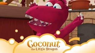 Coconut the little Dragon: The Cook S1 E6 | WikoKiko Kids TV