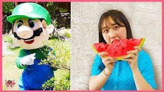 Johny Johny Sí Papá Canciones Infantiles, Johny Johny Fruits version for kids 과일 인기동요 장난감 놀이
