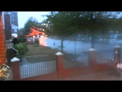 Hurricane Sandy Manhattan Beach Shore Blvd