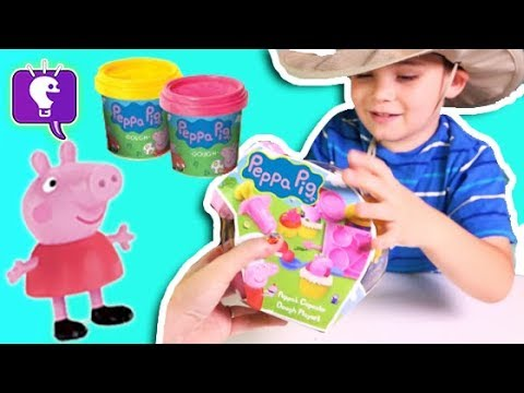 Peppa Pig Play Dough Set Toy Review