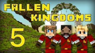 Fallen Kingdoms : Frigiel, Zelvac, Playfan | Jour 5 - Minecraft