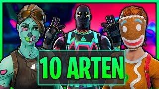 10 ARTEN von FORTNITE SPIELERN | Fortnite Spieler die jeder kennt