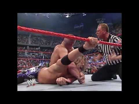 John Cena Vs Randy Orton Vs Edge Vs Shawn Michael -fatal Four Way Backlash 2007 Part 3 video