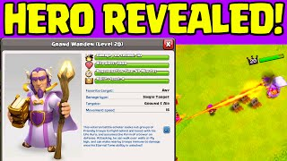 Clash of Clans UPDATE ♦ NEW HERO REVEALED! ♦ The Grand Warden ♦ CoC ♦