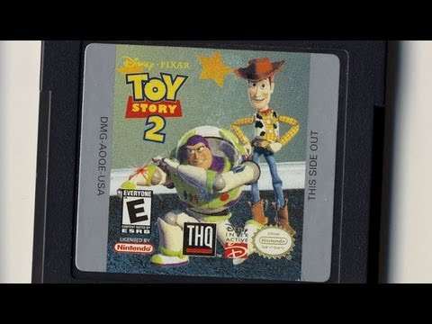 Classic Game Room - TOY STORY 2 review for Game Boy Color