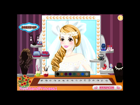Barbie's Wedding Dress Game Barbie Dress Up Game