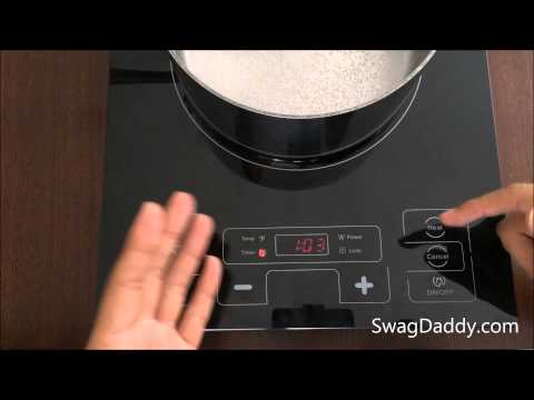 Precise Heat Portable Countertop Induction Cooktop Review - SwagDaddy