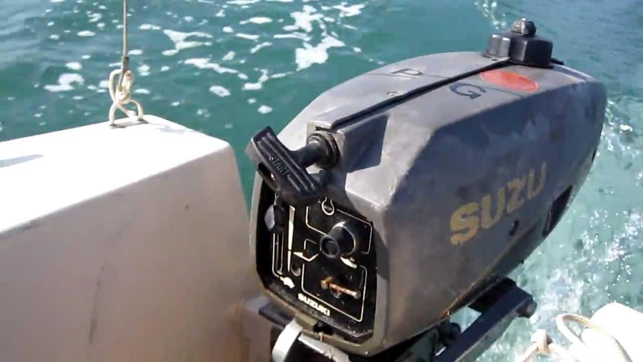 Suzuki 2hp Outboard 2 Stroke Youtube