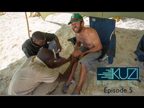 Poisonous African Spider Bite Sabotages SUP/Kitesurfing Adventure | KUZI Project, Ep. 5