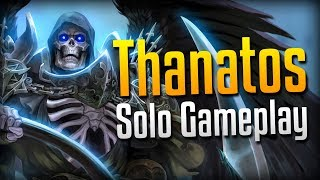 Smite: HARVESTING SOULS!- Grim Reaper Thanatos Solo Gameplay
