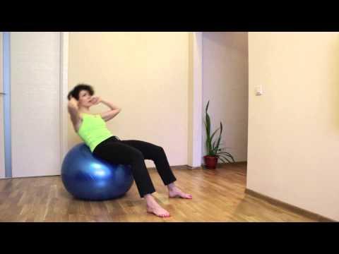 Плоский живот и здоровая спина (комплекс 3)