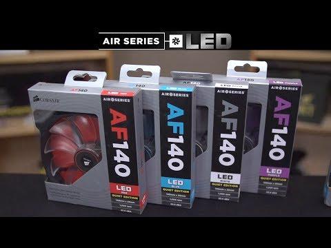 Linus Tech Quickie: Corsair Air Series LED case fans