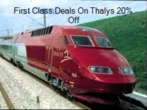 Rail Europe Tickets & Passes For Eurostar, Thalys, TGV, Le Freece, Elipsos & Eurail Pass