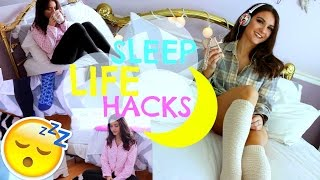 SLEEP LIFE HACKS | How to get a better SLEEP!!!!