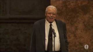 James Earl Jones receives an Honorary Award at the 2011 Governors Awards