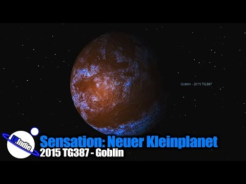Sensation: Neuer Kleinplanet entdeckt - 2015 TG387 - Goblin