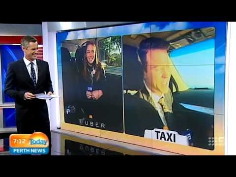 Taxi V Uber - Part 1   Today Perth News