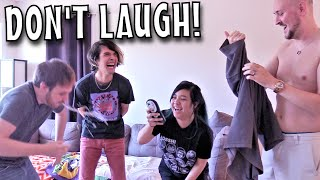 DON'T LAUGH CHALLENGE - ft Akidearest, The Anime Man, and Misty Chronexia