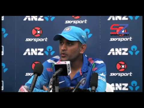 Ms Dhoni Blames Pacers For New Zealand Series Loss video
