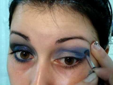 Make up tutorial: Notte Magica Capodanno 2011 – Richiesta: capodanno look leggero. Seconda parte.