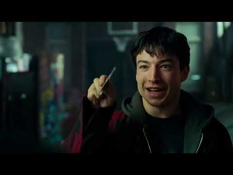 Какая у тебя суперсила ? Знакомство Бэтмена и Флэша  Лига Справедливости
