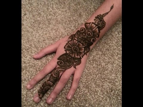 Henna design, Arabian design for Eid, Ramzan, Karwachauth, Navratri- Indian Pakistani Mehendi Tattoo