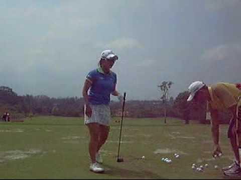 Ai Miyazato on Driving range Honda Ptt LPGA Thailand 2010.wmv