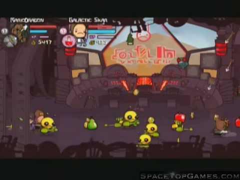 Castle Crashers Walkthrough Part 18 - Alien Ship