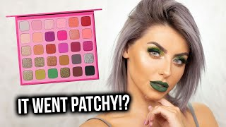 OVERYHYPED..? TESTING THE JEFFREE STAR X MORPHE PALETTE! FIRST IMPRESSIONS, REVIEW + TUTORIAL!