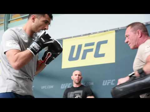 UFC 210 Open Workouts: Gegard Mousasi