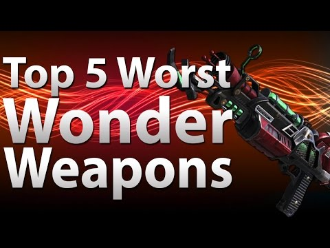 TOP 5 Worst Wonder Weapons in 'Call of Duty Zombies' -