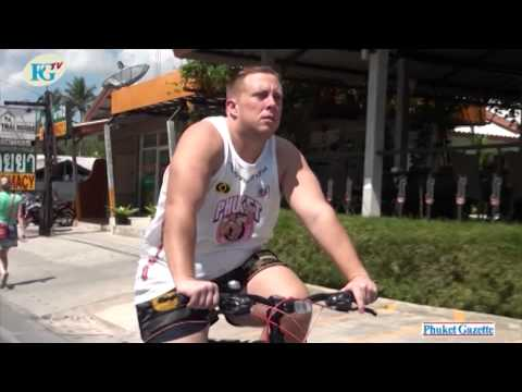 Expat James Mason – Phuket to Bangkok on a Bicycle