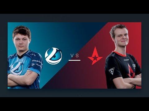 CS:GO - Luminosity vs. Astralis [Train] - Group A Round 2 - ESL Pro League Season 6 Finals