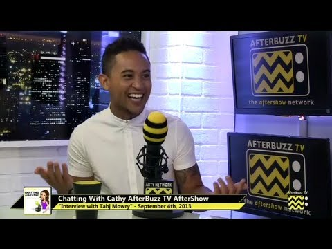 Tahj Mowry Interview | AfterBuzz TV's Chatting with Cathy
