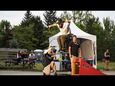 Ethernal Skate Films / Video Recap X SkateFest Laval 2018 @ Skatepark Centre de la Nature