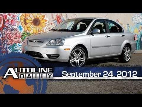 CODA EV Test Drive - Autoline Daily 977