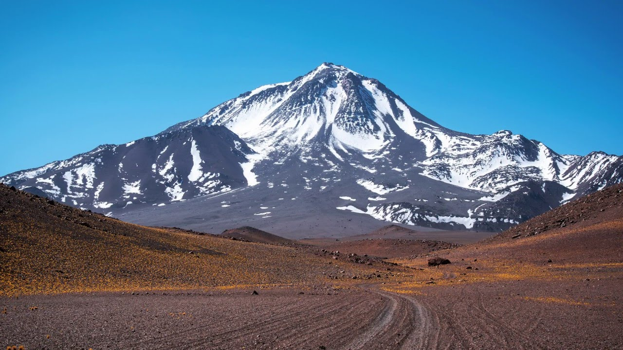 Llullaillaco volcano location