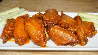 Easy Buffalo Chicken Wings Recipe| better than Wingstop Must Try