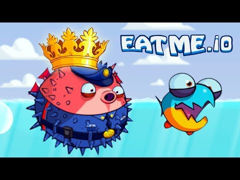 СЪЕШЬ МЕНЯ #4 Колючка - МОНСТР! Веселая андроид игра для детей EATME.IO похожая на СЛИЗАРИО