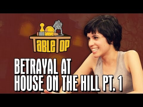 Betrayal at House on the Hill: Ashly Burch, Keahu Kahuanui, Michael Swaim join Wil on TableTop pt1