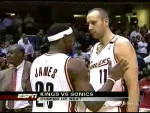Zydrunas Ilgauskas Sends Game To Overtime