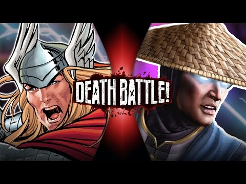 DEATH BATTLE! - Thor VS Raiden