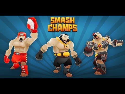 Играем в smash champs #2 прохождение за Teddy