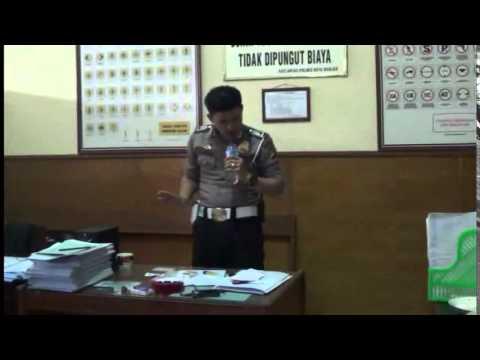 Lipsing Policeman - (judika Mama Papa Larang) video
